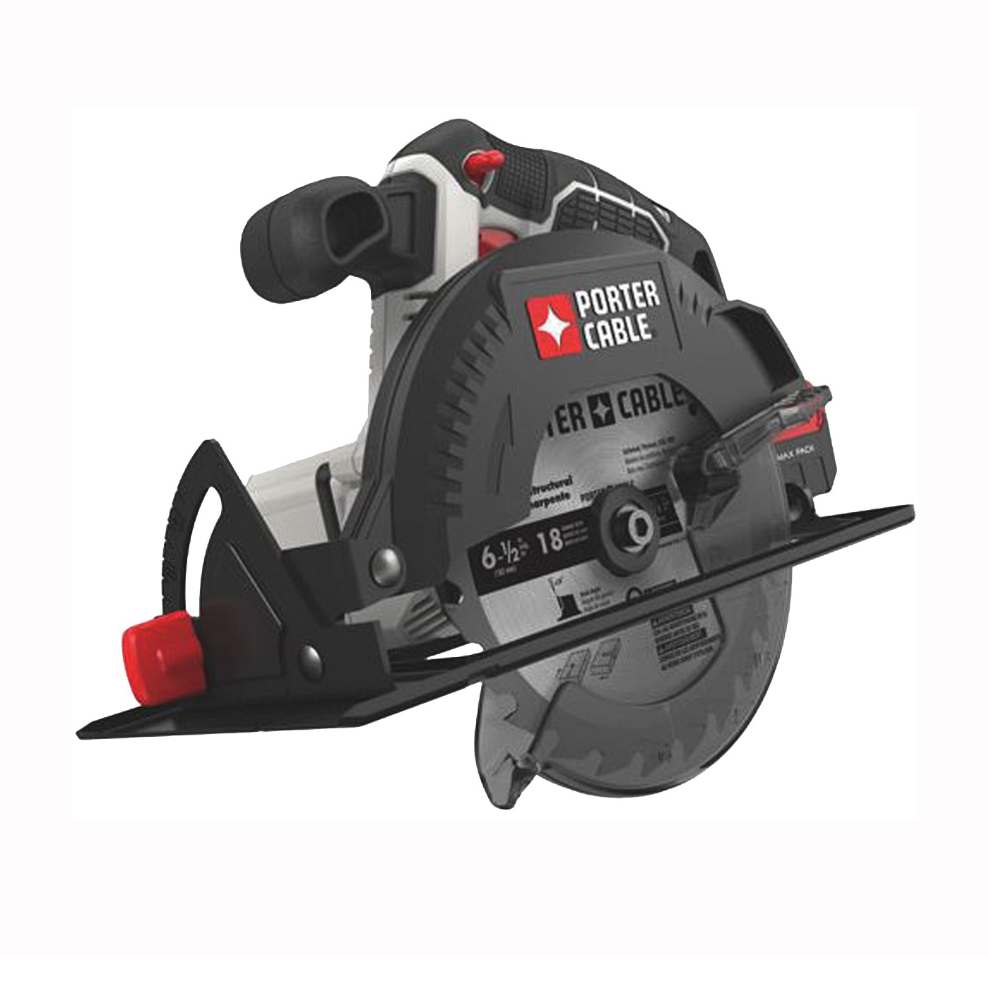 Picture of PORTER-CABLE PCC660B Circular Saw, Bare Tool, 20 V Battery, 1.3 Ah, 6-1/2 in Dia Blade, 0 to 50 deg Bevel