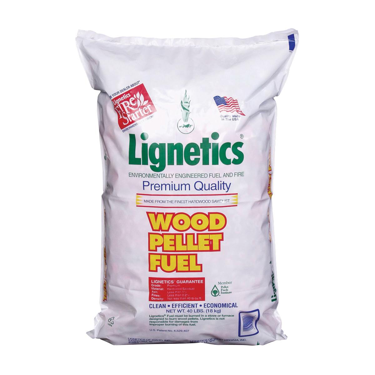 Picture of Lignetics FG10 Wood Fuel Pellet, 16 in L, 40 lb Package