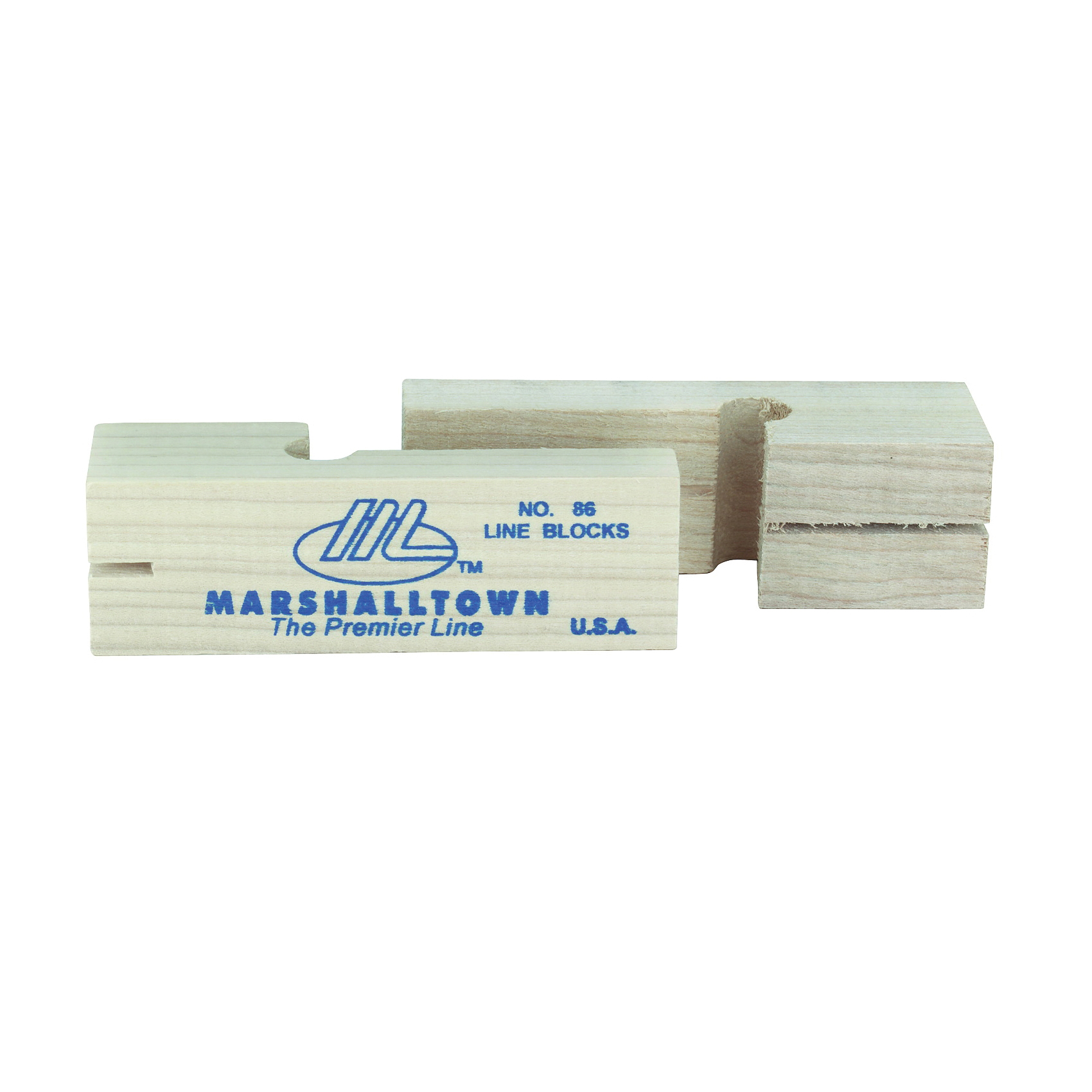 Picture of Marshalltown 86 Wood Line Block, 3-3/4 in L, Wood