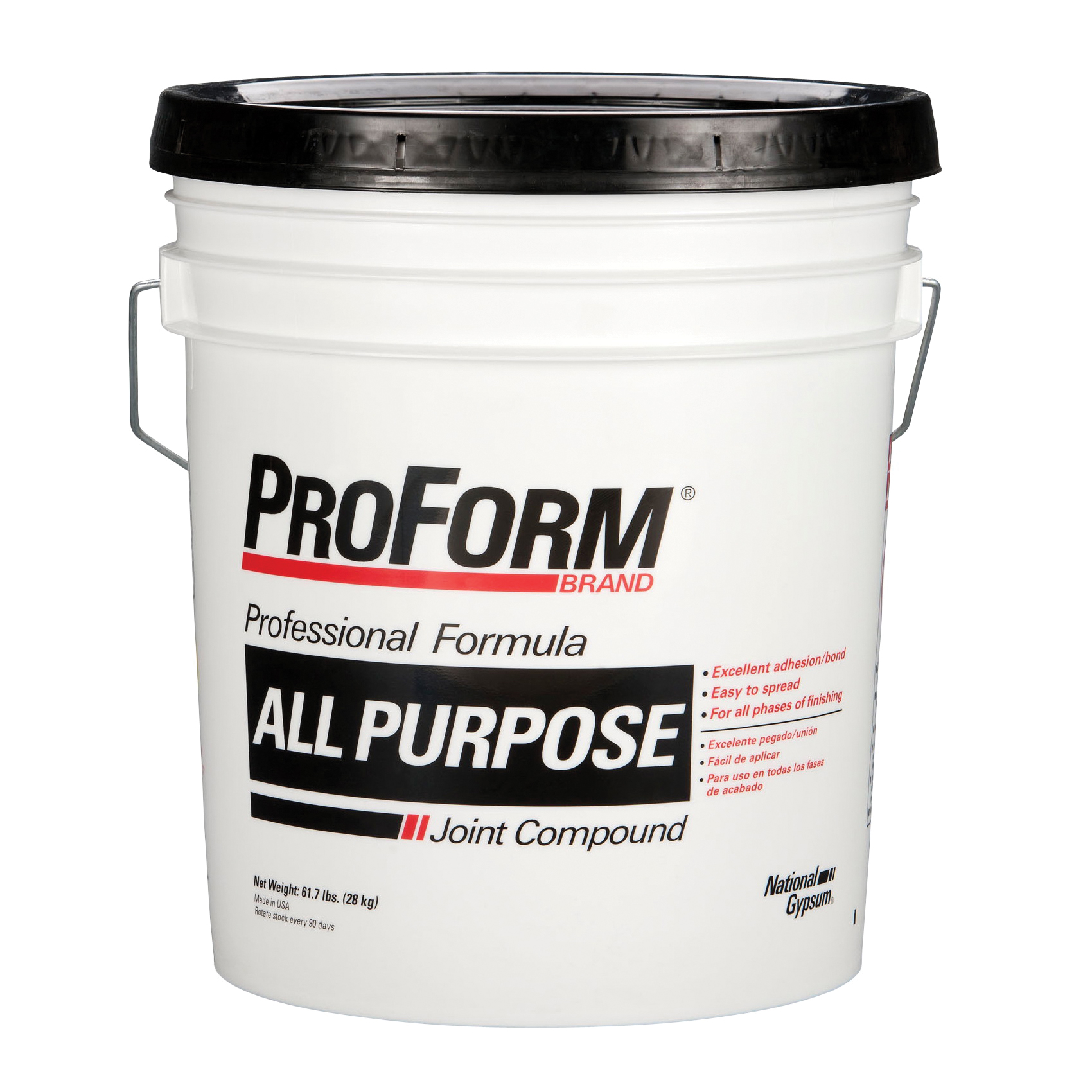 Picture of Proform JT0070 Joint Compound, Paste, Gray, 61.7 lb Package, Pail
