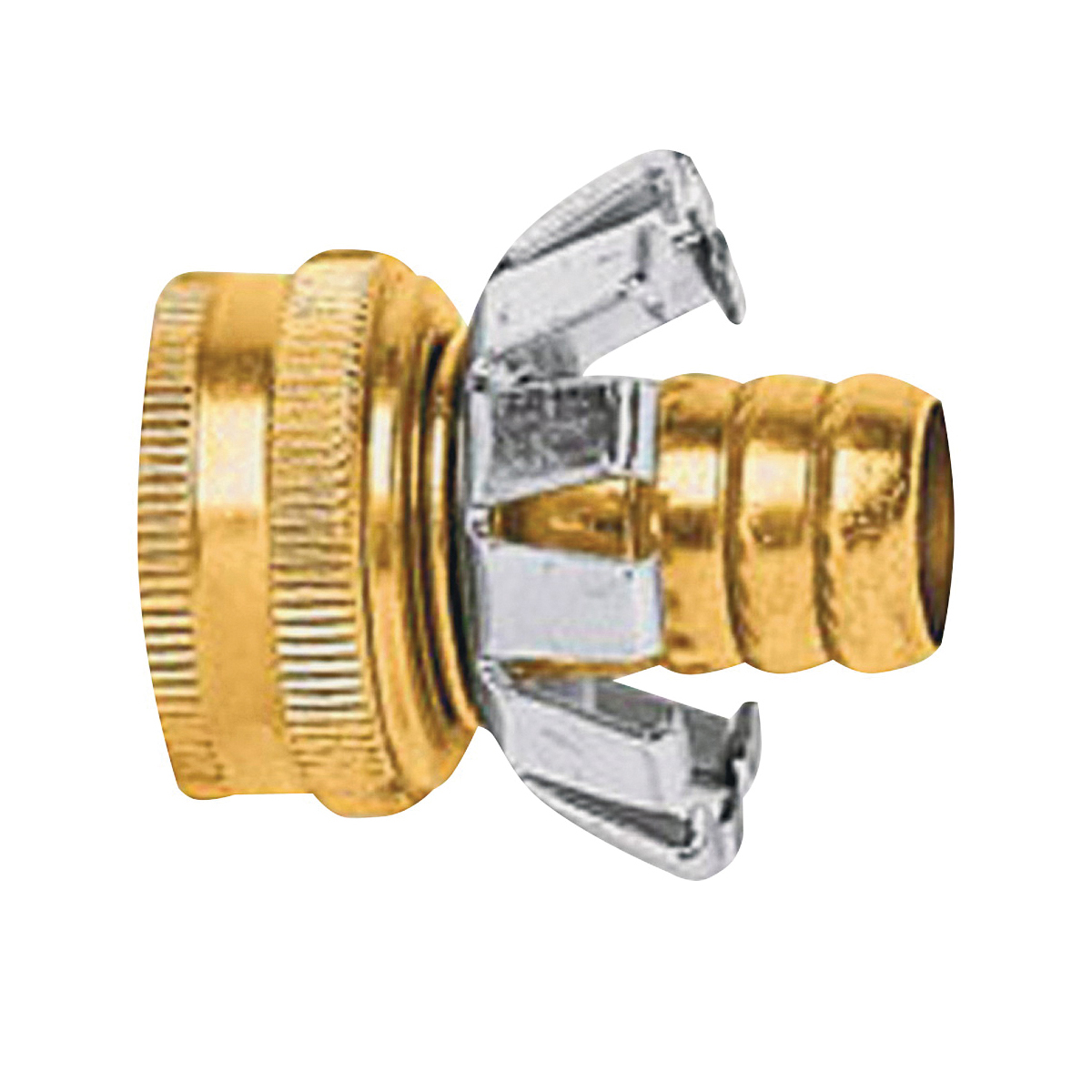 Picture of Gilmour C34F Hose Repair Coupler, 3/4 in, Female, Brass