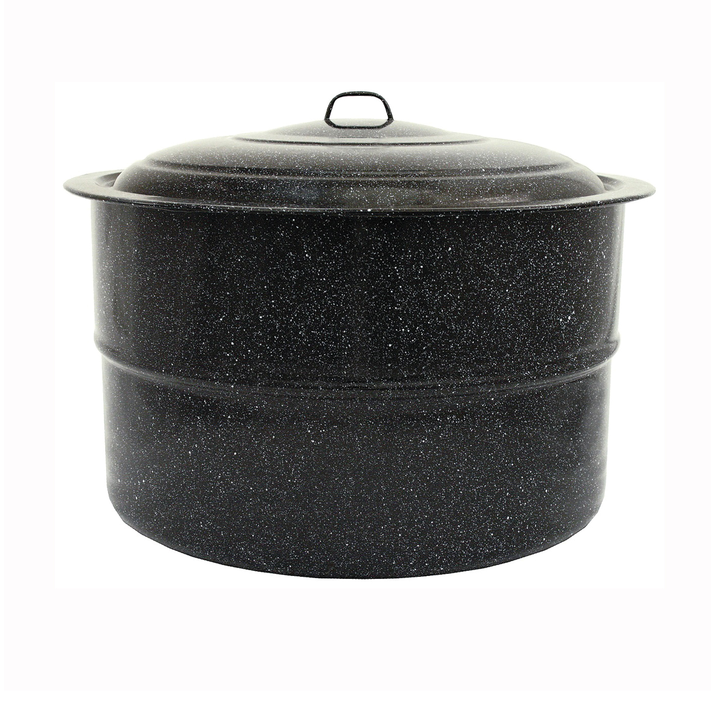 Picture of Granite Ware F0709-2 Canner, 33 qt Capacity, Steel, Porcelain Enamel-Coated