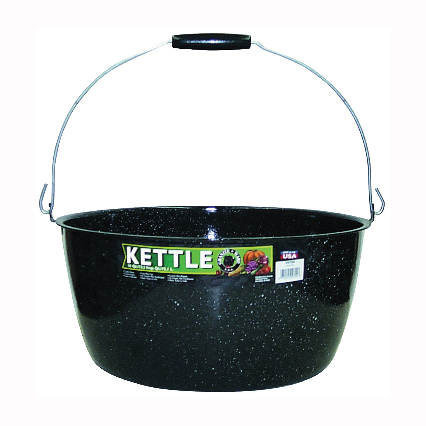 Picture of Granite Ware F0704-4 Preserving Kettle, 16 qt Capacity, Porcelain