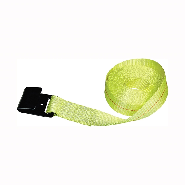Picture of S-Line 41659-10-30 Winch Strap with Flat Hook, 2 in W, 30 ft L, 3333 lb Vertical Hitch, Polyester
