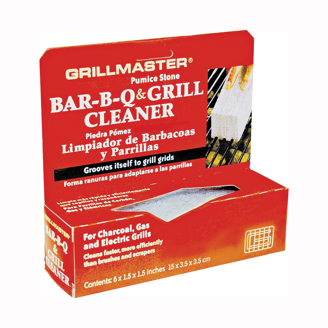 Picture of GrillMaster BQS-12T Grill Cleaner Kit, 6 in L