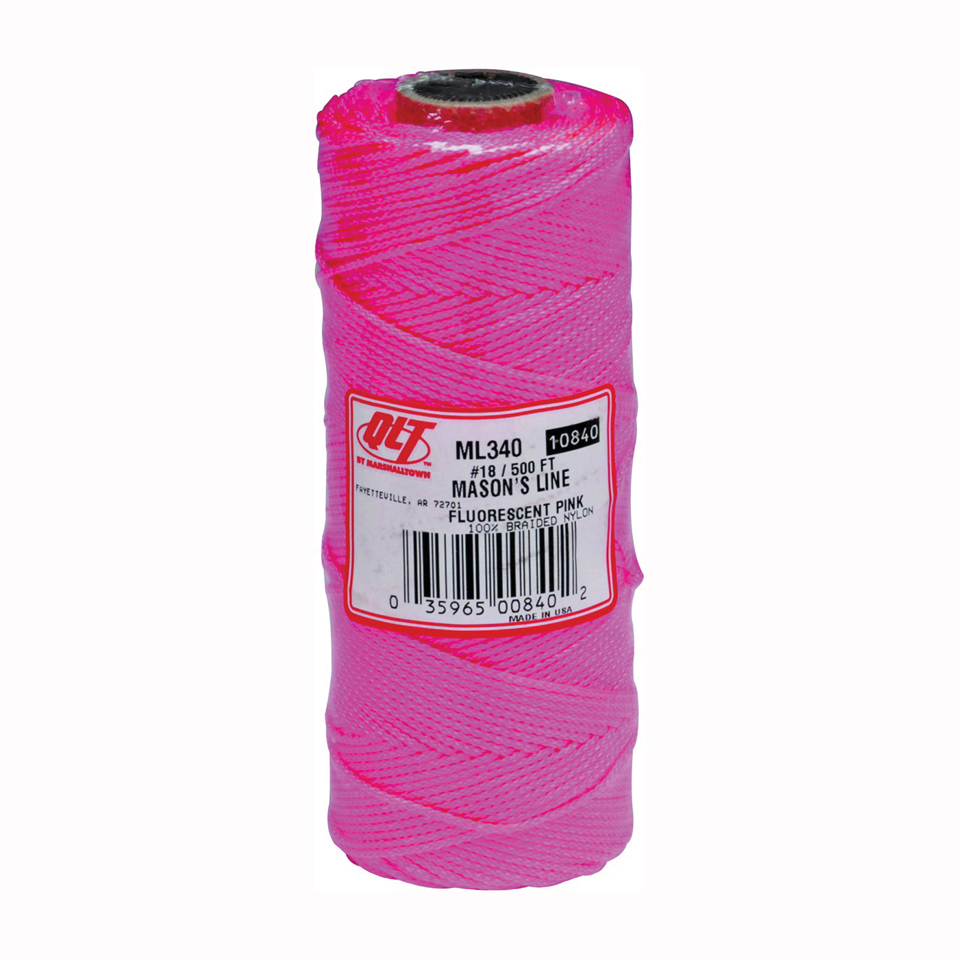 Picture of Marshalltown ML340 Mason Line, 500 ft L Line, Fluorescent Pink Line