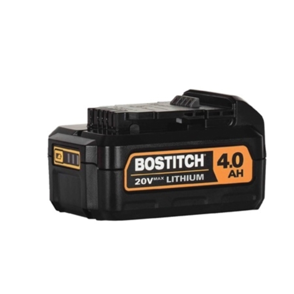 Picture of Bostitch BCB204 Lithium-Ion Battery, 20 V Battery, 4 Ah