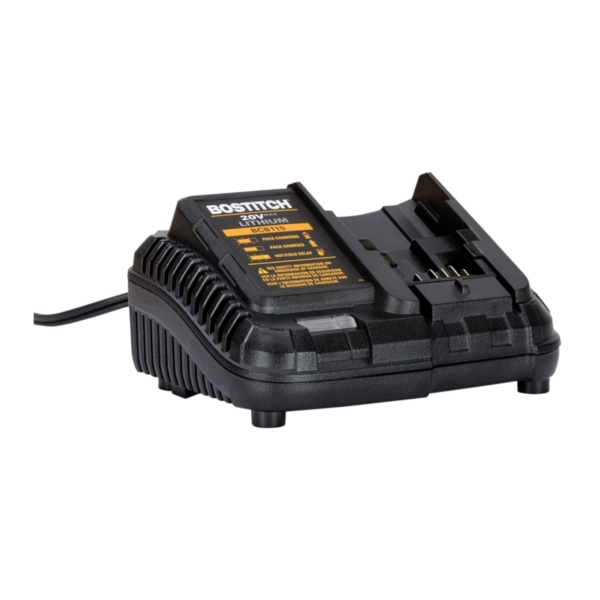 Picture of Bostitch BCB115 Battery Charger, <=60 min Charge, 1 -Battery, Battery Included: No