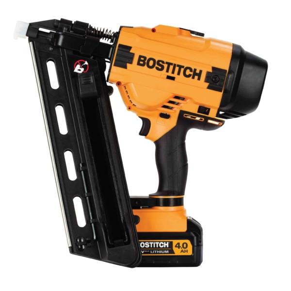 Picture of Bostitch BCF28WWM1 Cordless Framing Nailer Kit, Kit, 20 V Battery, 4 Ah, 55 Magazine, 28 deg Collation