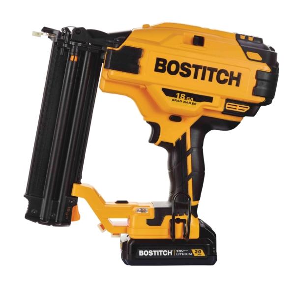 Picture of Bostitch BCN680D1 Cordless Brad Nailer Kit, Kit, 20 V Battery, 2 Ah, 110 Magazine, 18 ga Nail