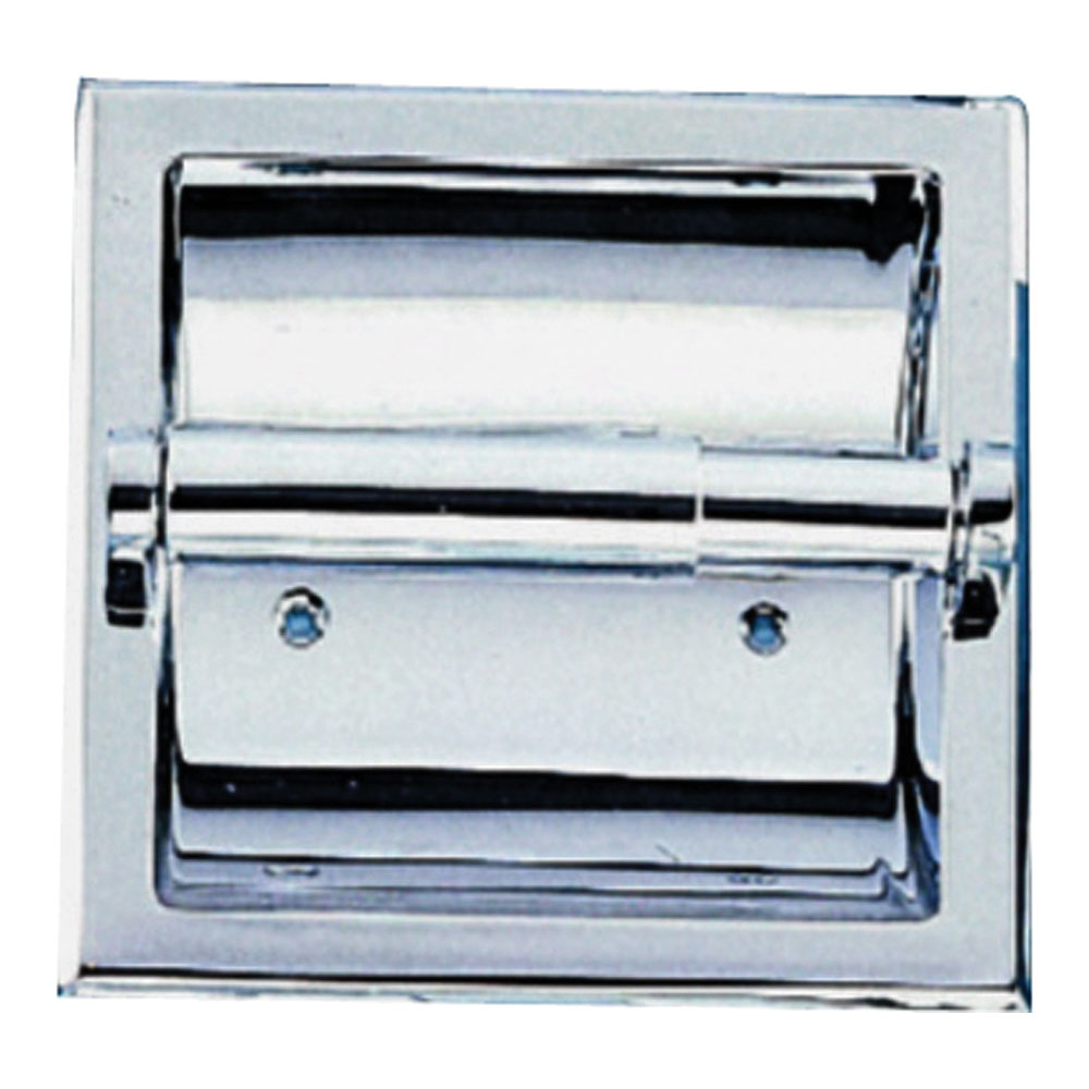 Picture of Boston Harbor CSC 107-3L Toilet Paper Holder, Metal, Chrome, Screw Mounting