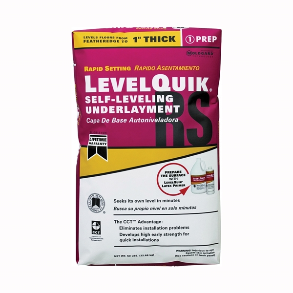 Picture of CUSTOM LevelQuik LQ50 Underlayment, Gray, 50 lb Package, Bag