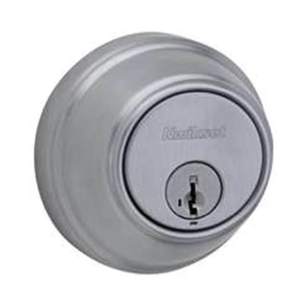Picture of Kwikset 816 26D RCAL/RCS Key Control Deadbolt, Satin Chrome, 2-3/8 to 2-3/4 in Backset, SmartKey Keyway