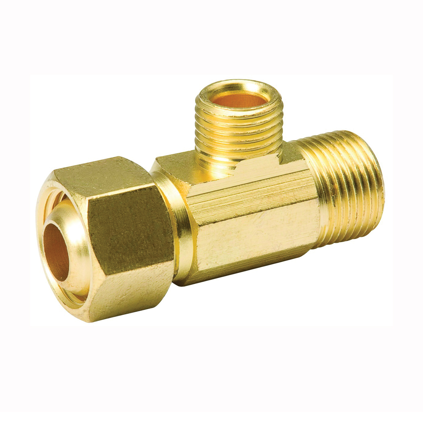 Picture of B & K ProLine 993-015NL Adapter, 3/8 x 1/4 in, Compression, Brass