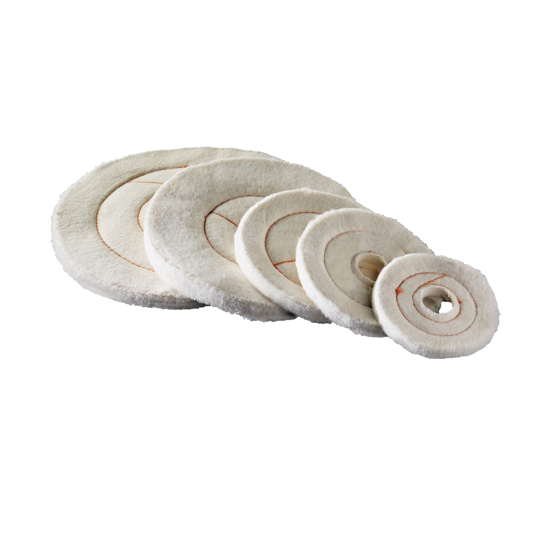Picture of Dico 527-60-4M Buffing Wheel, 4 in Dia, Flannel Cotton