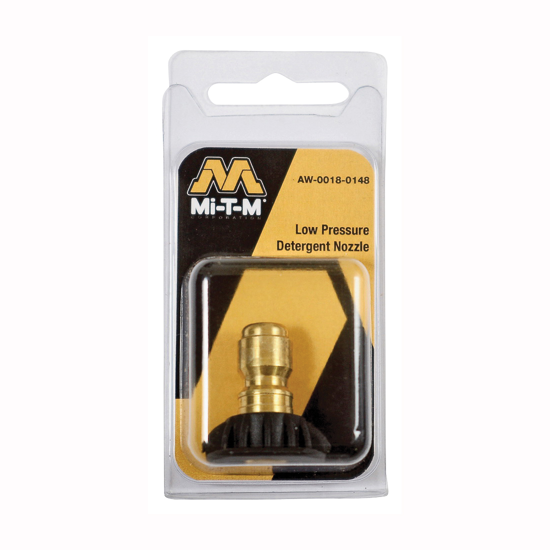 Picture of Mi-T-M AW-0018-0148 Detergent Nozzle, 65 deg Angle, For: Detergent Injector