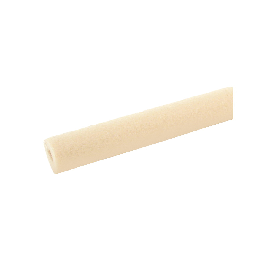 Picture of Tundra PR58058TA Pipe Insulation, 3 ft L, Polyethylene, Tan, 1/2 in Copper, 3/8 in IPS PVC, 5/8 in AC Tubing Pipe