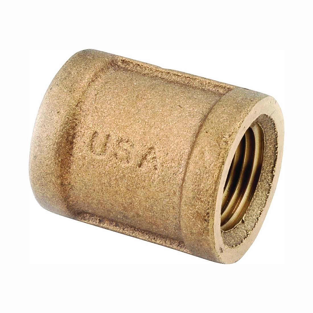 Picture of Anderson Metals 738103-08 Coupling, 1/2 in, FIPT, Brass