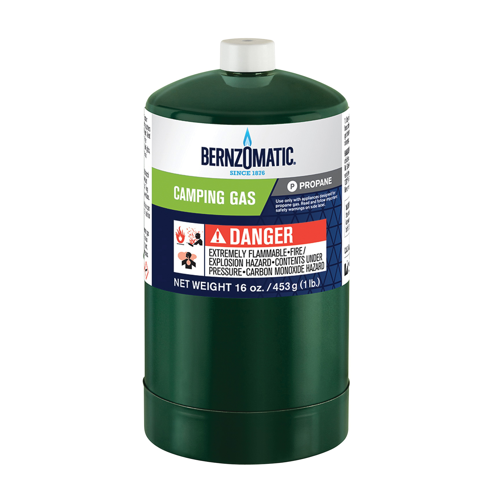 Picture of BernzOmatic 327774 Camping Gas Cylinder, 16.4 oz Package