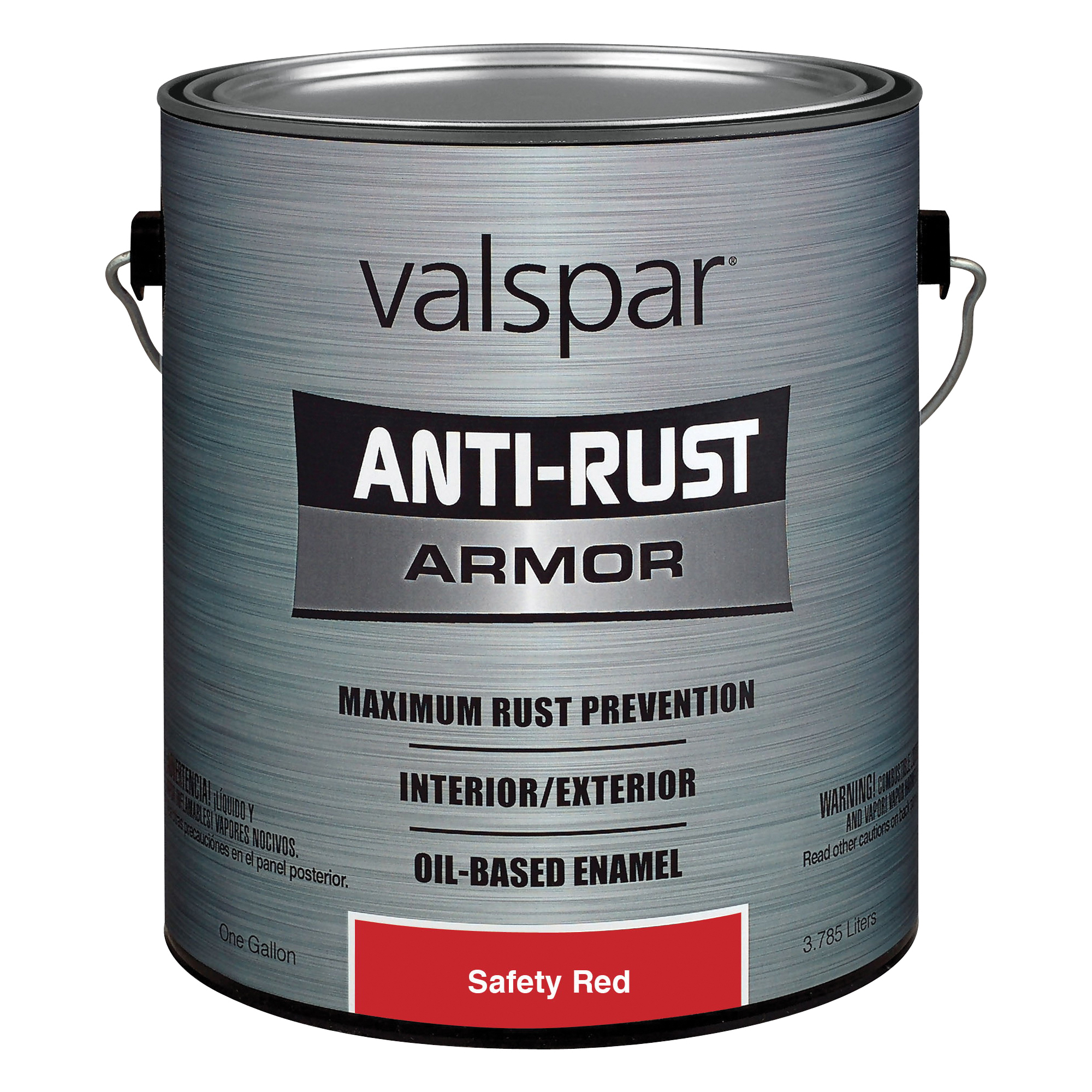 Picture of Valspar 21800 Series 21827 Oil Gloss Enamel, Gloss, Red, 1 gal