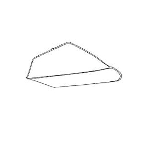 Picture of Miller 6294006 Wheelbarrow Tray, 6 cu-ft Capacity, Steel