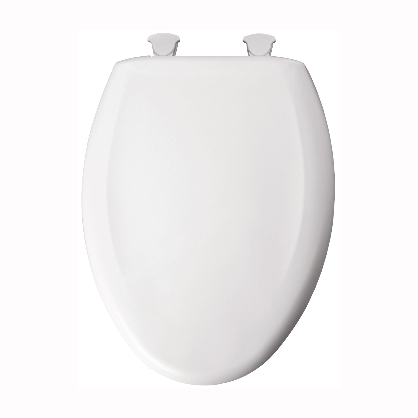 Picture of Mayfair 120SLOW-000 Toilet Seat, Elongated, Plastic, White, Twist Hinge