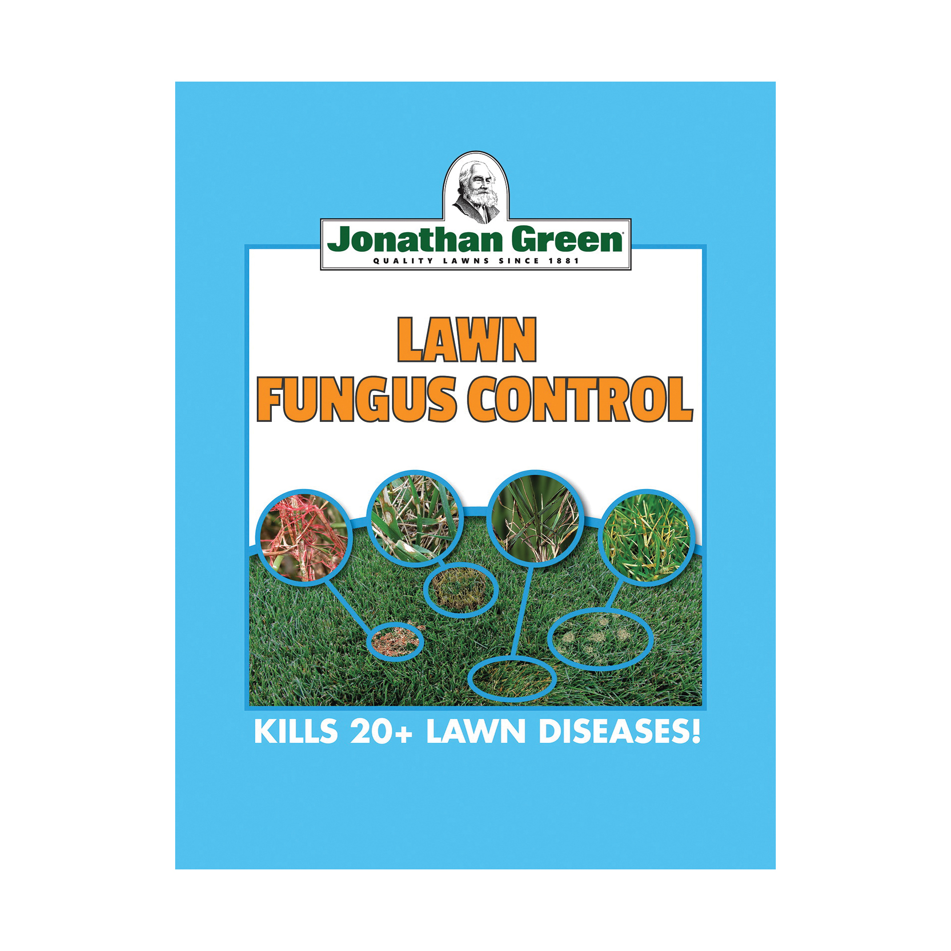 Picture of Jonathan Green 10233 Lawn Fungus Control Fungicide, Solid, 7.5 lb Package, Bag