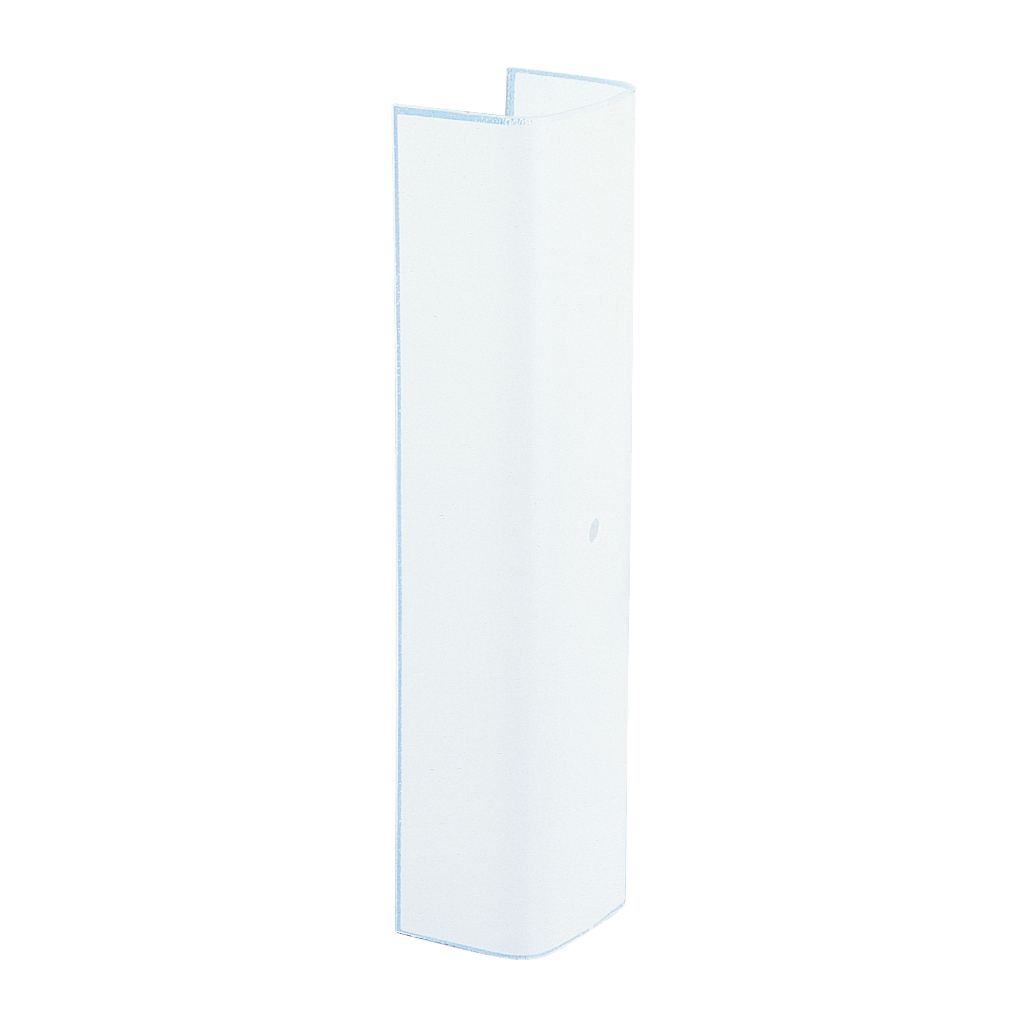 Picture of Westinghouse 8175900 Channel Shade, Rectangular, Glass, White