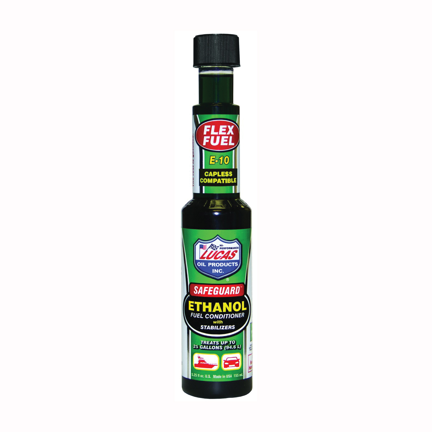 Picture of Lucas Oil 10670 Fuel Conditioner Green, 5.25 oz Package, Bottle