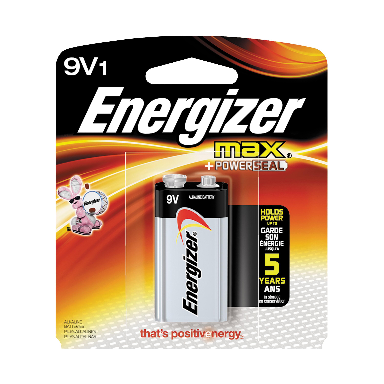 Picture of Energizer 522BP Alkaline Battery, 9 V Battery, 9 V Battery, Zinc, Manganese Dioxide