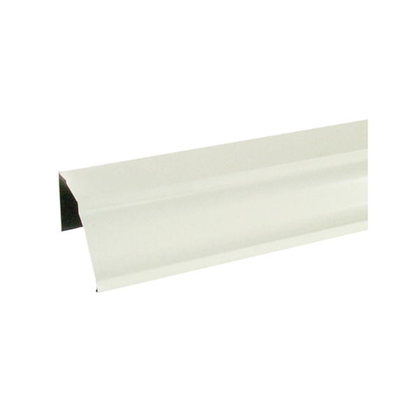 Picture of Amerimax 2600600120 Rain Gutter, 10 ft L, 5 in W, 0.185 Thick Material, Aluminum, White
