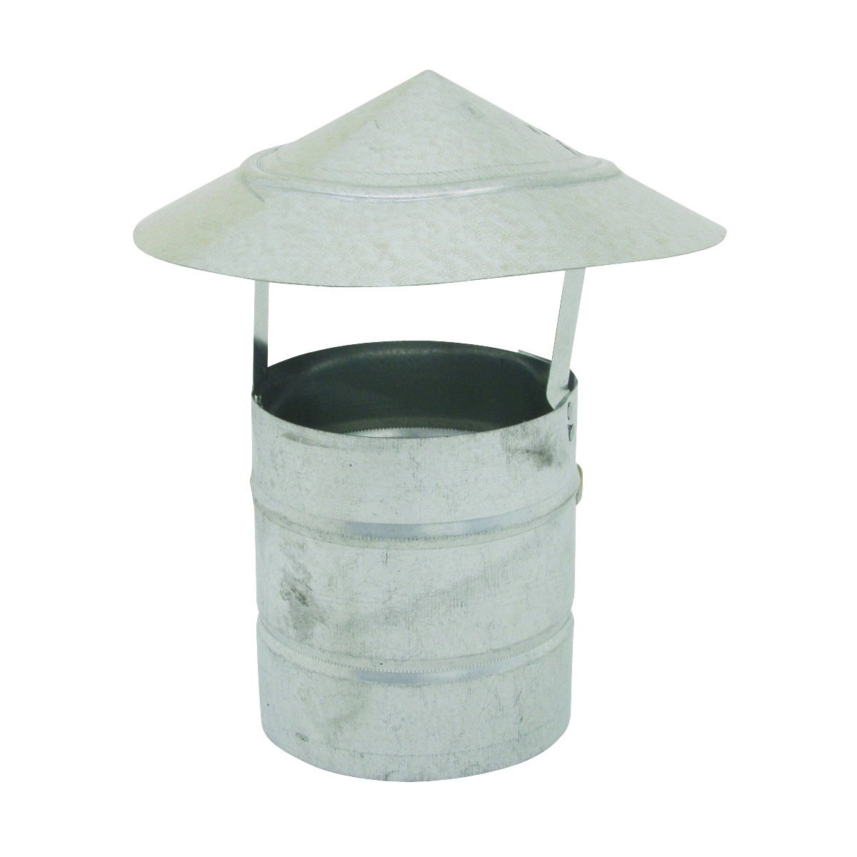 Picture of BILLY PENN 8101 Chimney Hood, 4 in Dia, Galvanized Steel