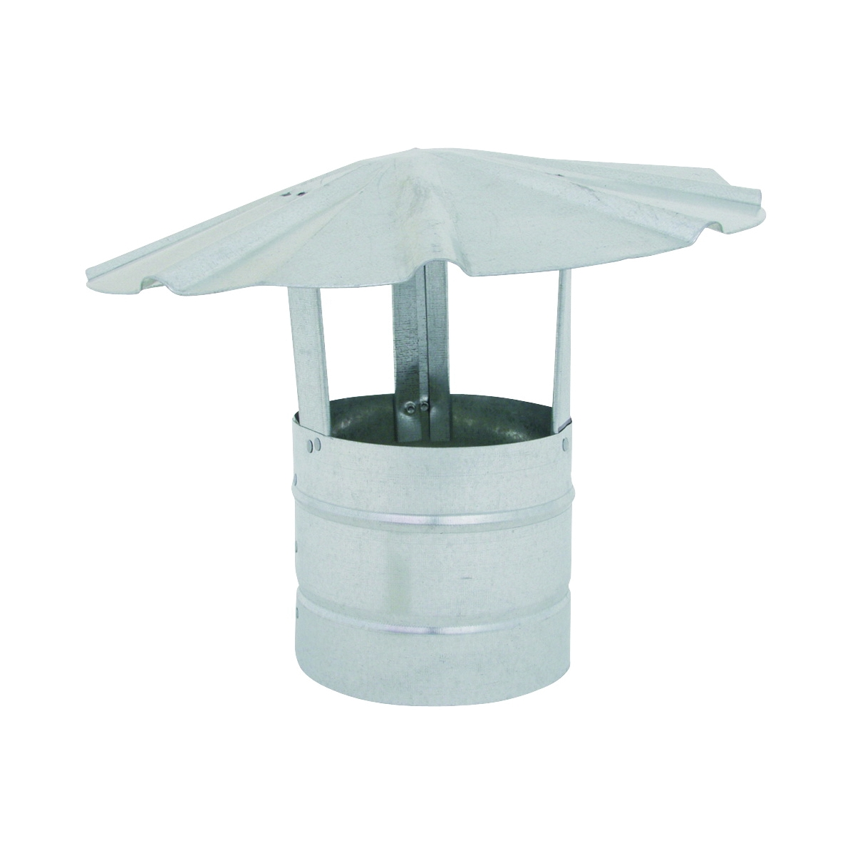 Picture of BILLY PENN 8102 Chimney Hood, 5 in Dia, Galvanized Steel