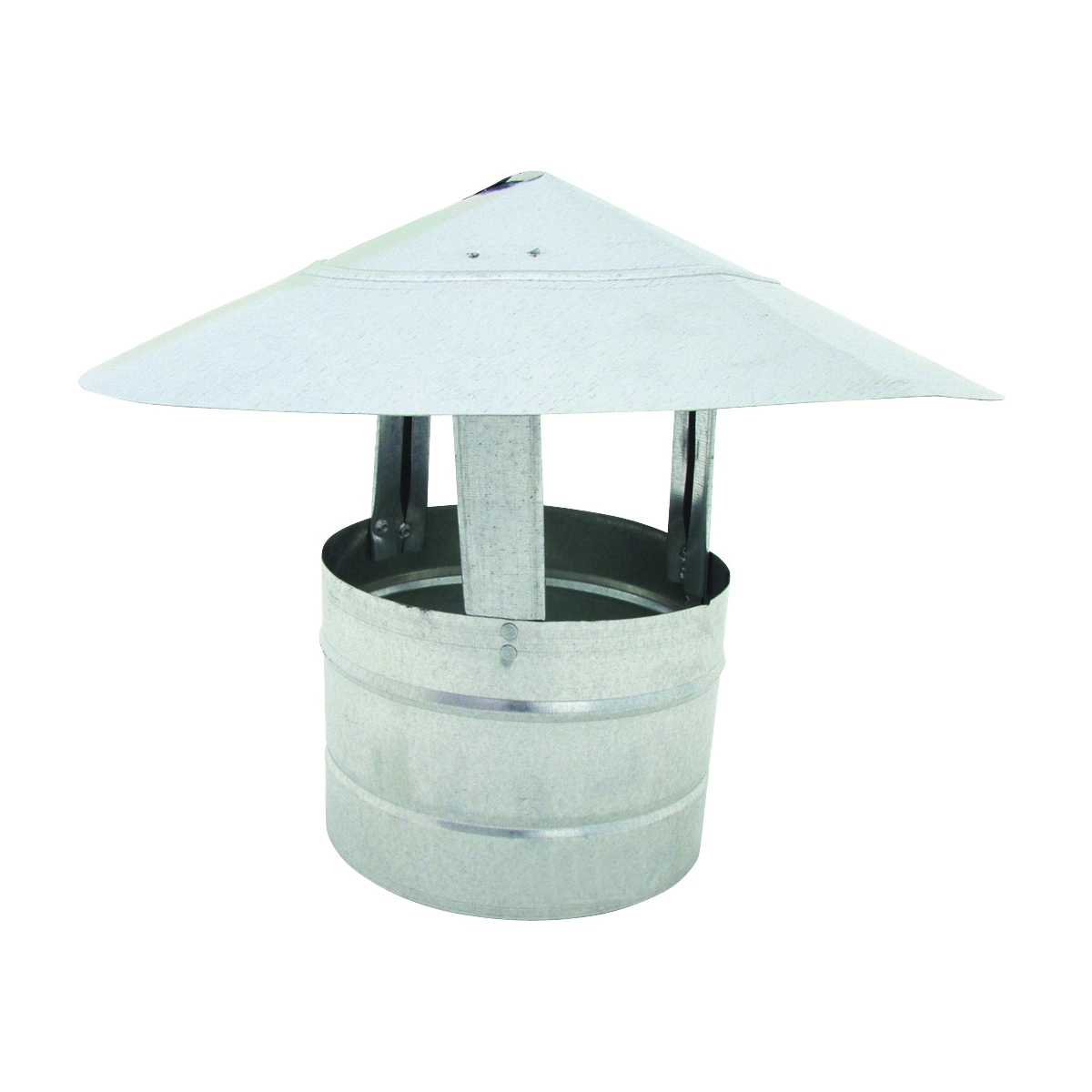 Picture of BILLY PENN 8103 Chimney Hood, 6 in Dia, Galvanized Steel