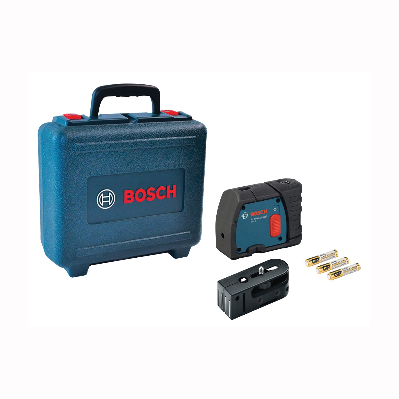 Picture of Bosch GPL 2 Laser Level, 100 ft, +/-1/4 in at 100 ft Accuracy, 2 -Beam