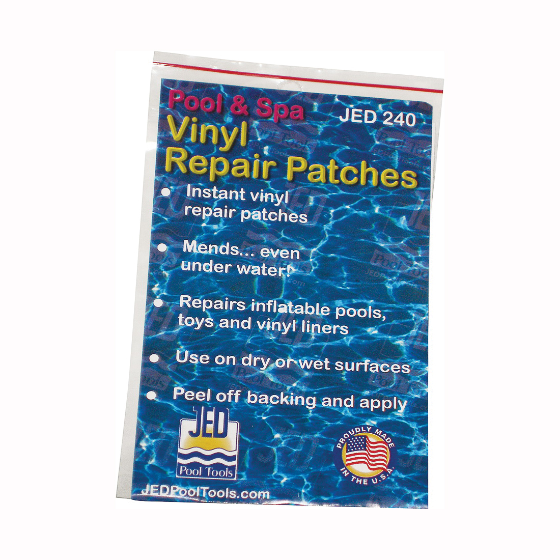 Picture of JED POOL TOOLS 35-240 Repair Patch, Pressure-Sensitive