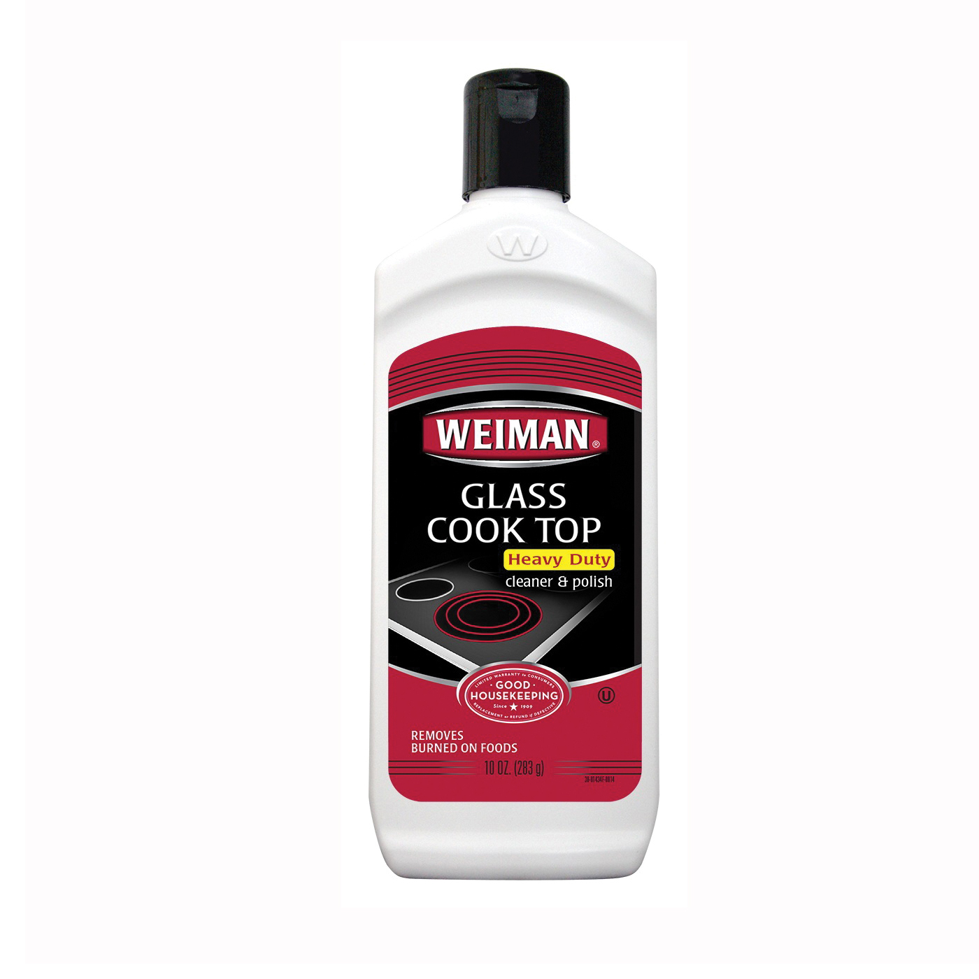 Picture of Weiman 38 Cooktop Cleaner/Polish, 10 oz Package, Paste, Apple, Tan