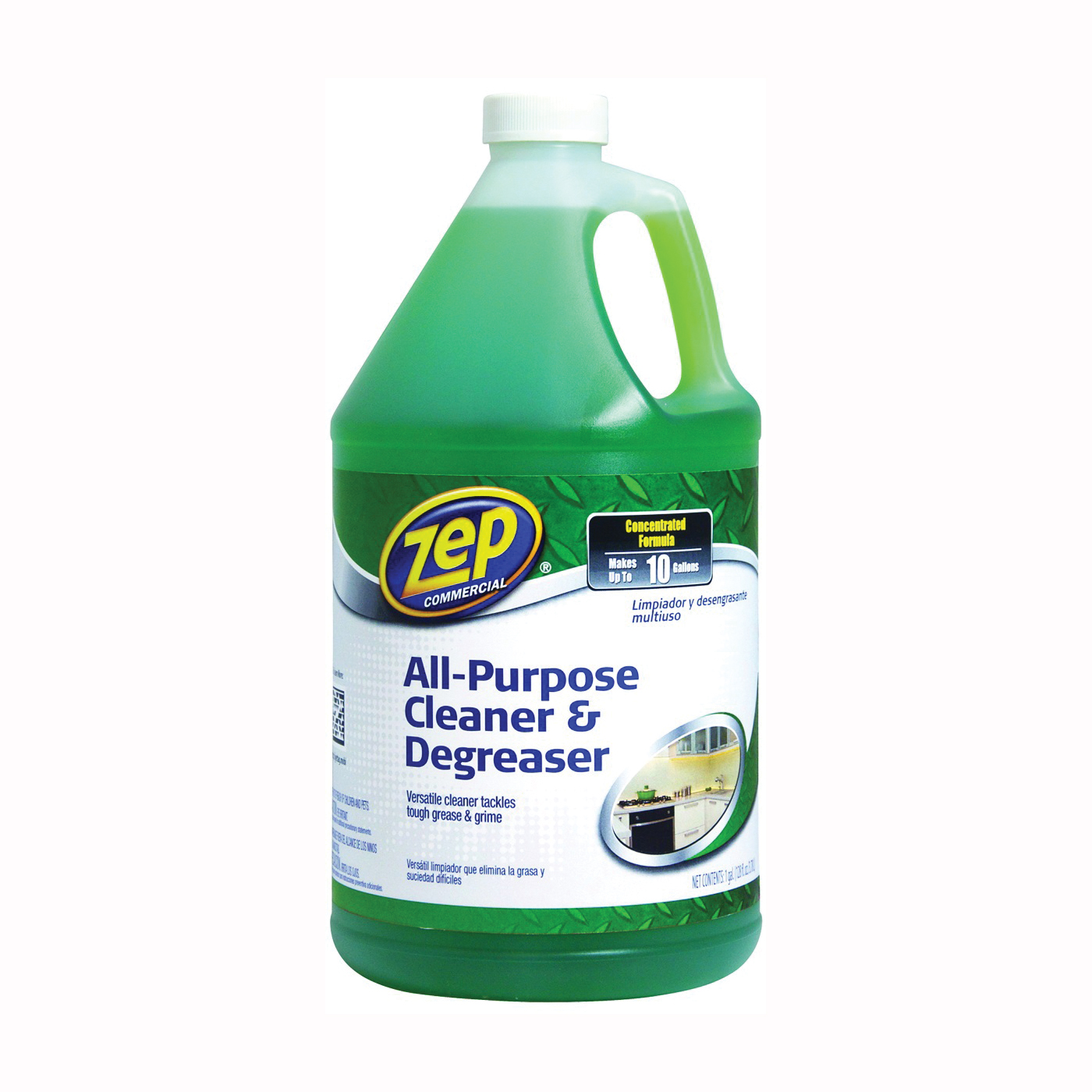 Picture of Zep ZU0567128 Cleaner/Degreaser, 1 gal Package, Jug, Liquid, Pleasant