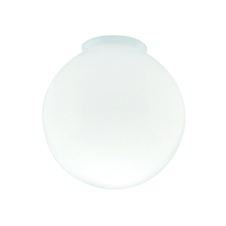 Picture of Westinghouse 8557000 Light Shade, 6 in Dia, Globe, Glass, White, Gloss