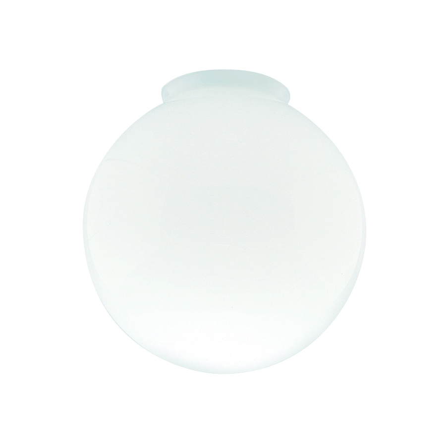 Picture of Westinghouse 8557100 Light Shade, 8 in Dia, Globe, Glass, White, Gloss