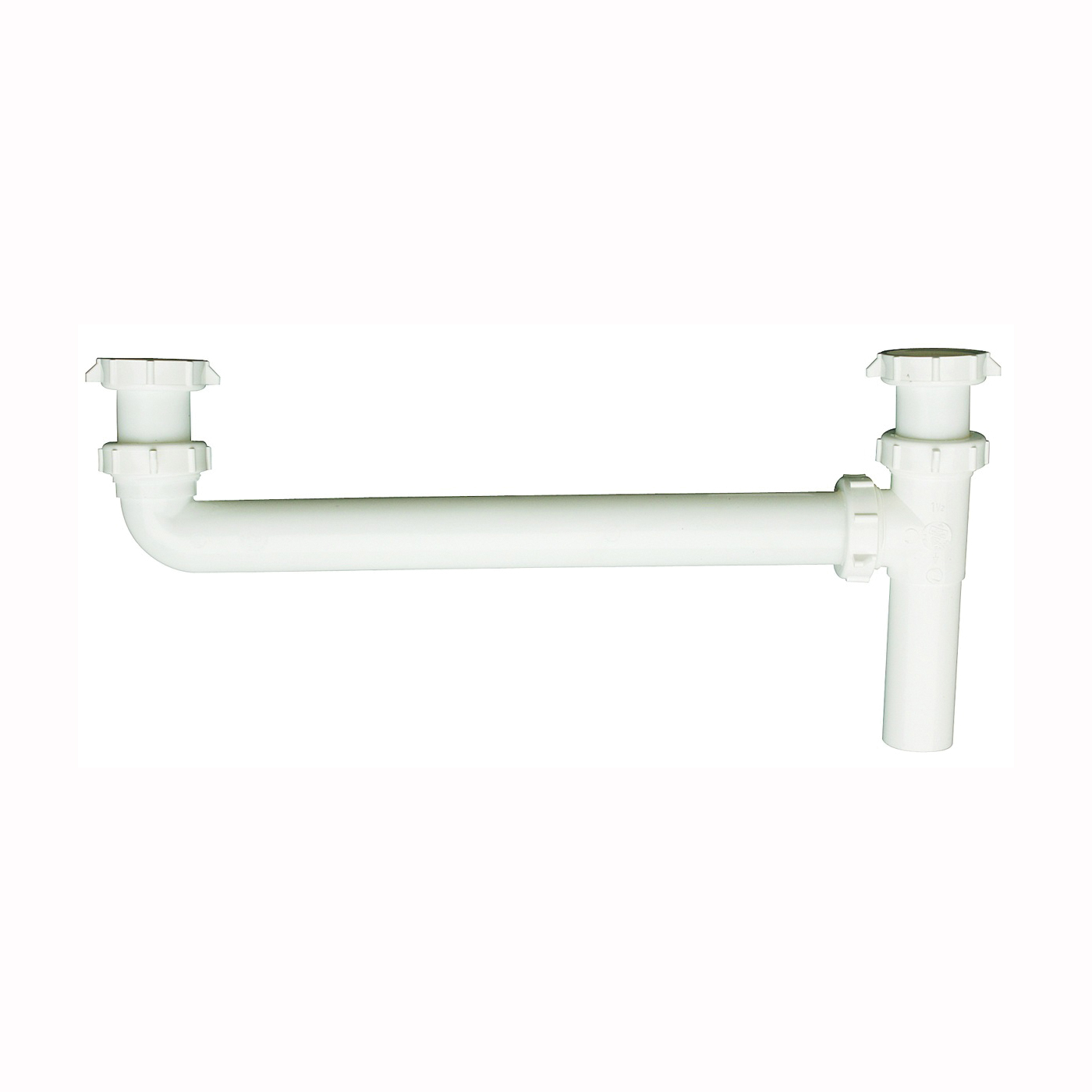 Picture of Plumb Pak PP20925 End Outlet, 1-1/2 x 1-1/2 in, Slip Joint, Plastic, White