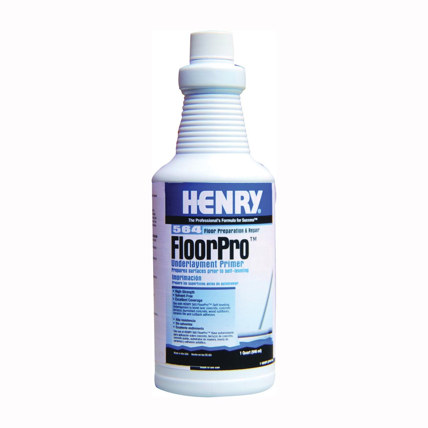 Picture of HENRY FloorPro 12166 Underlayment Primer, 1 qt, Bottle, Light Pink, Liquid