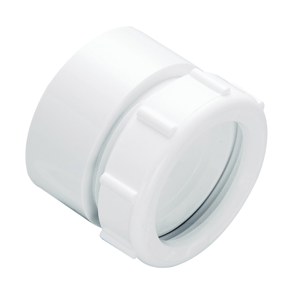 Picture of Plumb Pak PP20999 Marvel Connector, 1-1/2 in Compression, 1-1/2 in Compression, White