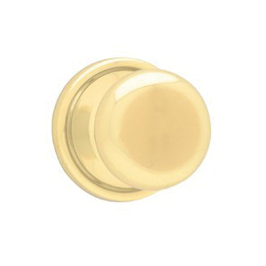 Picture of Kwikset 788H 3BX Dummy Door Knob, 2-3/8 in Dia Knob, Polished Brass