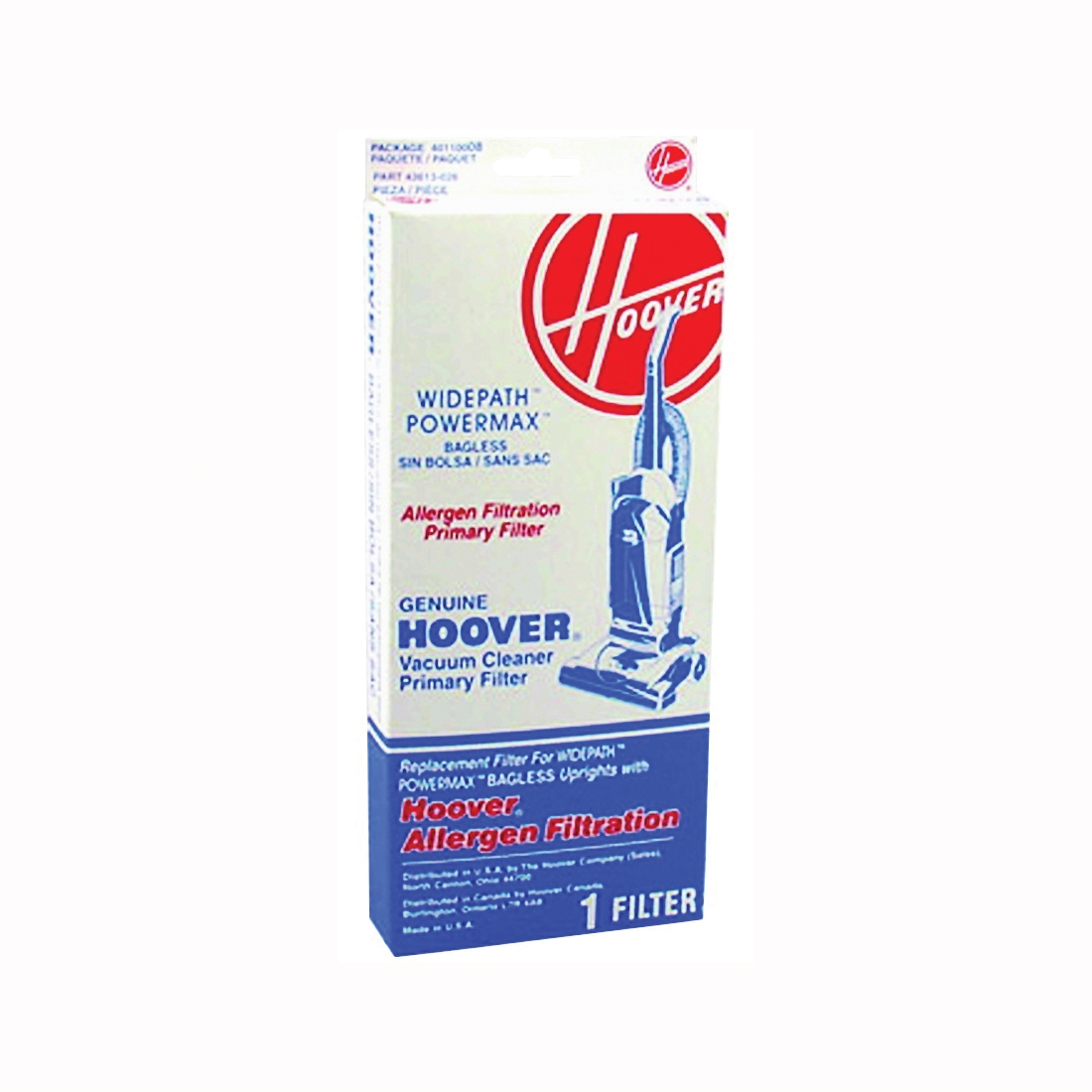 Picture of HOOVER 40110008 Primary Filter