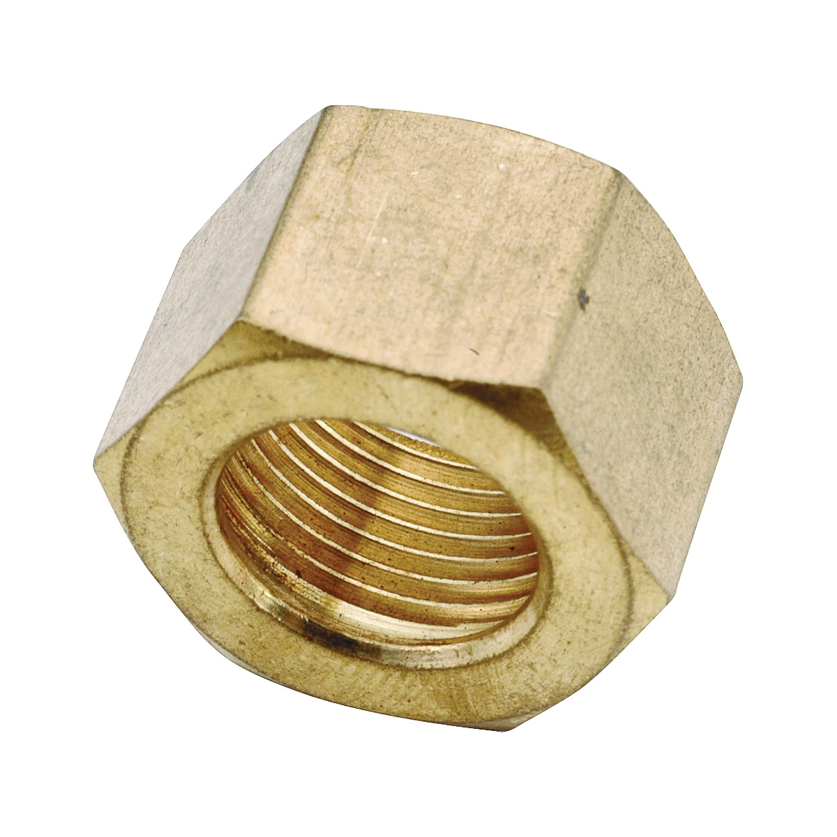 Picture of Anderson Metals 730061-10 Compression Nut, Brass