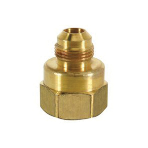 Picture of BrassCraft 294F Series F12-6-8 Flare Female Adapter, 3/8 x 1/2 in, Flare x FIP, Rough