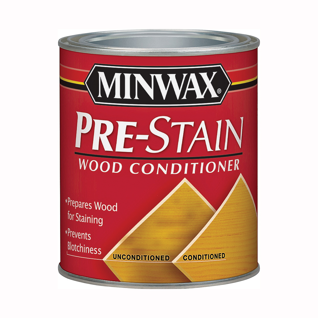 Picture of Minwax 61500444 Pre-Stain Wood Conditioner, Clear, Liquid, 1 qt, Can