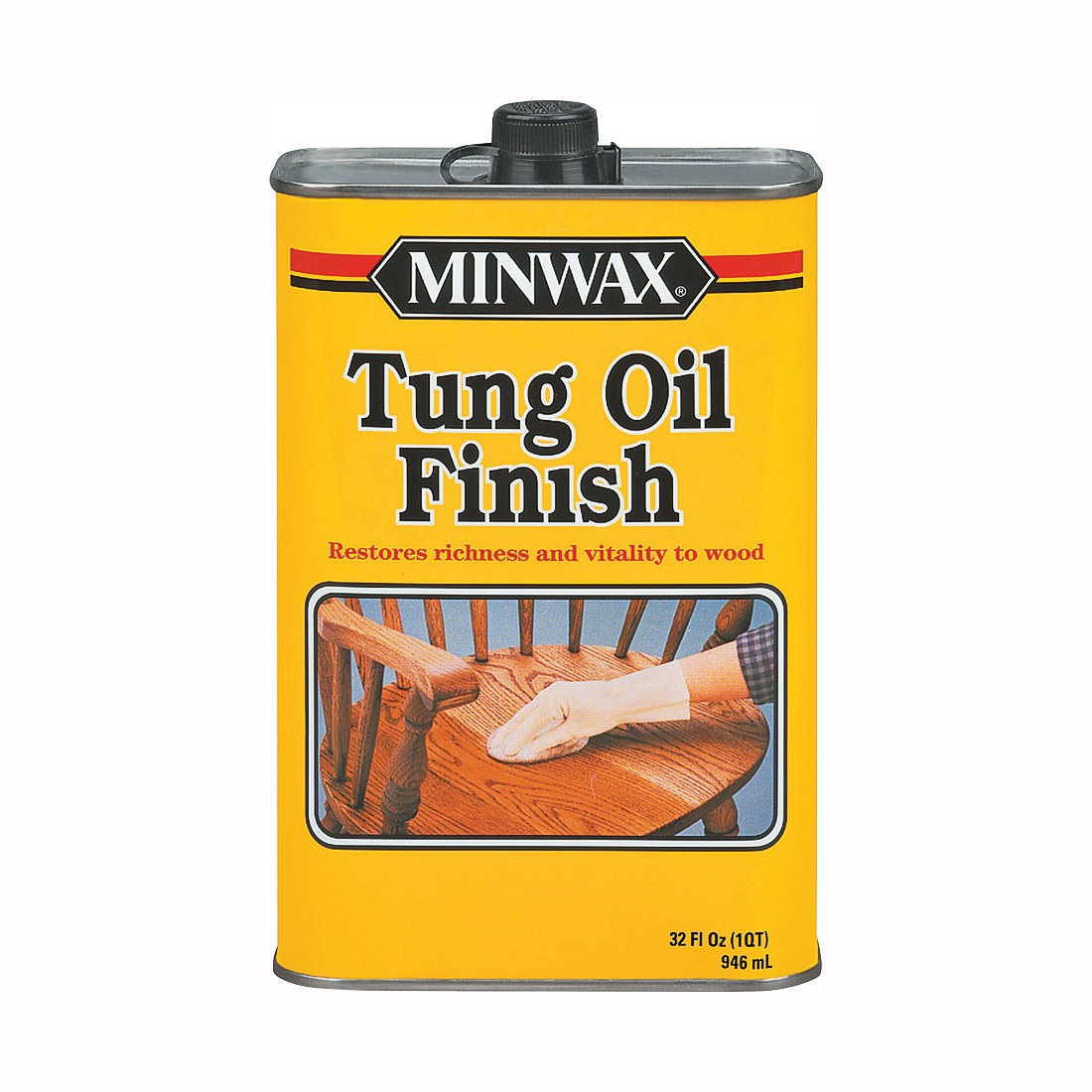 Picture of Minwax 67500000 Tung Oil Finish, Liquid, 1 qt, Can