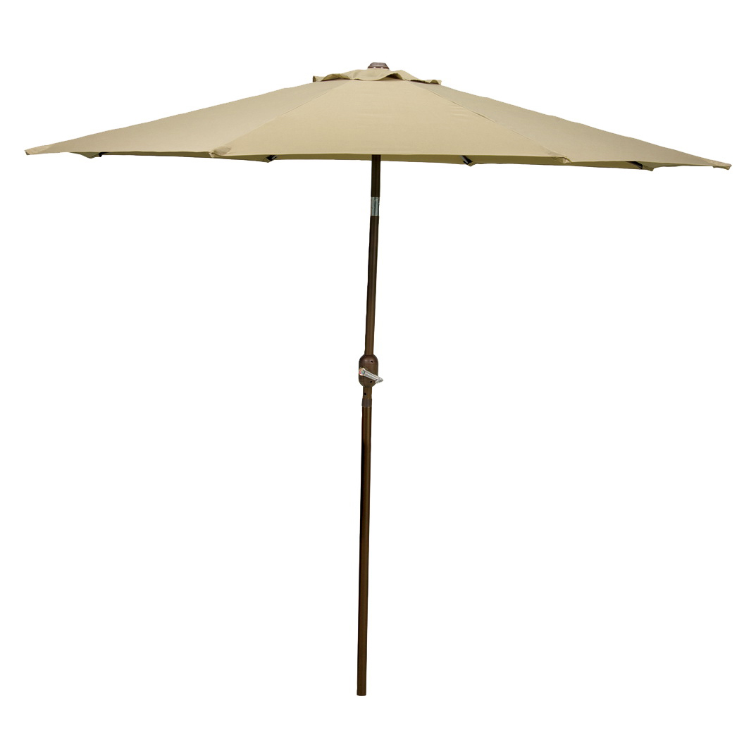 Picture of Seasonal Trends 65777/63865 Crank Umbrella, 92.9 in H, 107.9 in W Canopy, 107.9 in L Canopy, Round Canopy